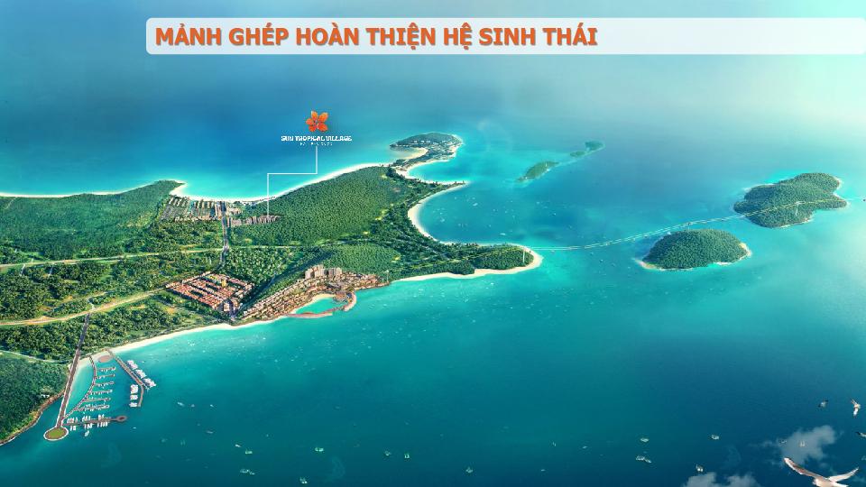 vị trí sun tropical village phú quốc